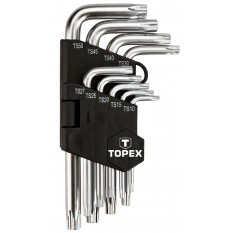 Trusa chei torx T10-T50 35D950TOP :: Topex