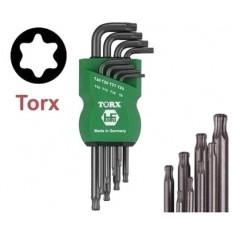 Trusa torx Tx9-Tx40 614-180-08 :: Hafu Werkzeugfabrik