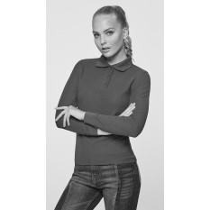 Tricou polo cu maneca lunga pentru femei Roly Estrella