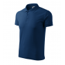 Tricou polo barbati Pique, midnight blue
