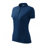 Tricou polo dama Pique, midnight blue