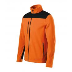 Jacheta fleece unisex Effect, portocaliu