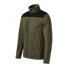 Jacheta fleece unisex Effect, militar