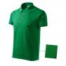 Tricou polo barbati Cotton, verde mediu