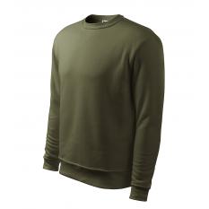 Bluza barbati Essential, verde militar