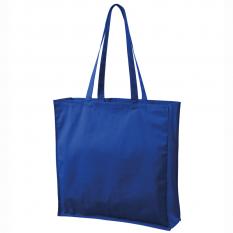 Sacosa de cumparaturi Carry, 43 x 43 x 12 cm, albastru regal