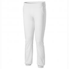 Pantaloni dama Leisure, alb