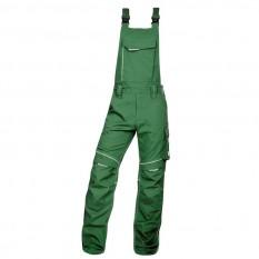 Pantaloni de lucru, cu pieptar barbati, Ardon Urban+, verde