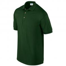 Tricou polo unisex Ultra Cotton, verde padure