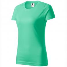 Tricou dama Basic, verde menta