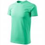 Tricou unisex Heavy New, verde menta