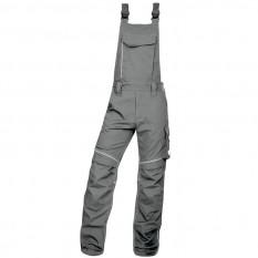 Pantaloni de lucru, cu pieptar barbati, Ardon Urban+, gri