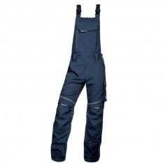 Pantaloni de lucru, cu pieptar barbati, Ardon Urban+, bleumarin