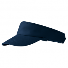 Sapca Malfini Sunvisor, unisex, 100% bumbac, albastru marin