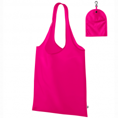 Sacosa de cumparaturi Smart - 40x40 cm, roz neon