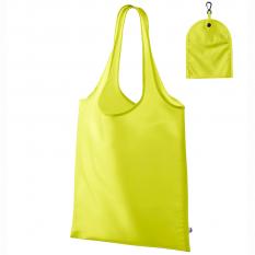 Sacosa de cumparaturi Smart - 40x40 cm, galben neon
