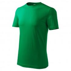 Tricou barbati Classic New, verde mediu