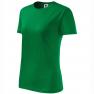 Tricou dama Classic New, verde mediu