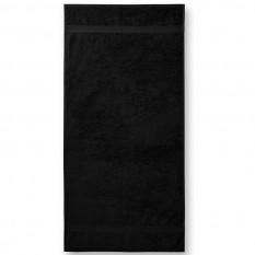 Prosop de baie Terry Bath 70 x 140 cm, negru