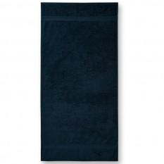 Prosop de baie Terry Bath 70 x 140 cm, albastru marin