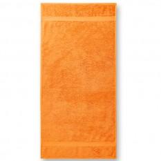 Prosop de baie Terry Bath 70 x 140 cm, tangerine orange