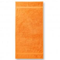 Prosop mic Terry 50 x 100 cm, tangerine orange