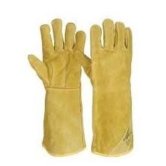 Manusi de protectie din piele pentru sudori Workguard :: Renania