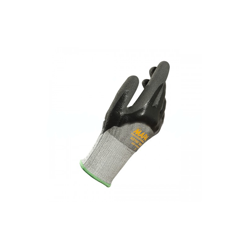 Manusi ticotate din fibre HDPE impregnate 3/4 cu nitril Grip &Proof :: Renania