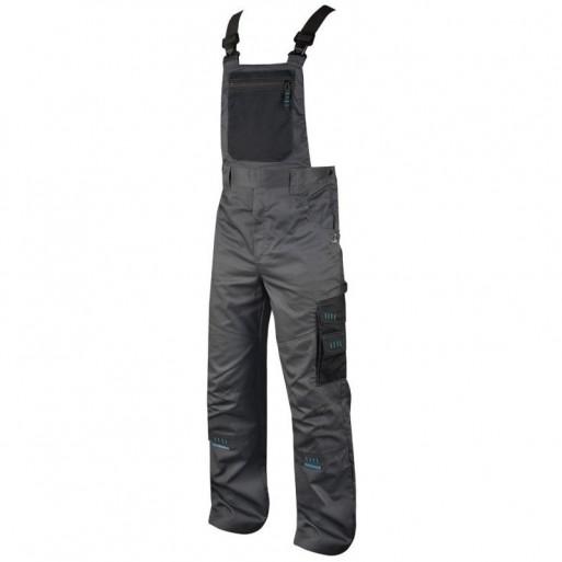 Pantaloni cu pieptar black H9302 :: 4TECH