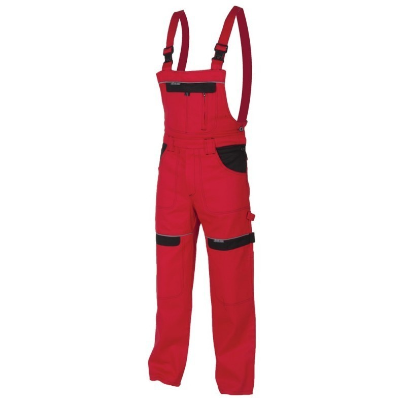 Pantaloni cu pieptar red H8108 :: Cool Trend