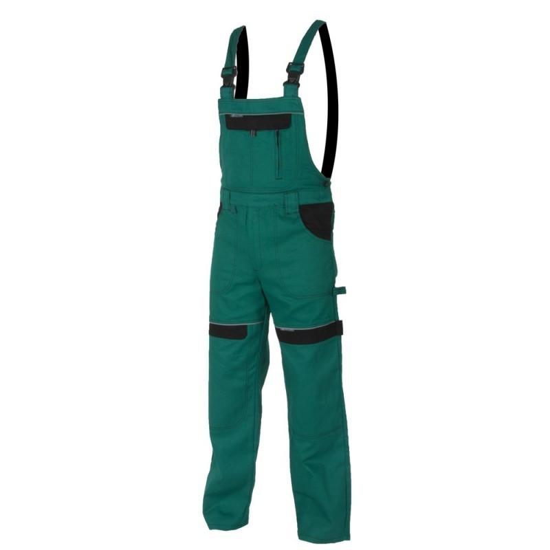 Pantaloni cu pieptar green Cool Trend H8105 :: Cool Trend