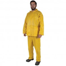 Costum de ploaie din doua piese Cleo galben :: Nakita