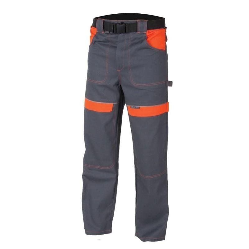 Pantaloni de lucru Cool Trend gri-portocaliu :: Cool Trend