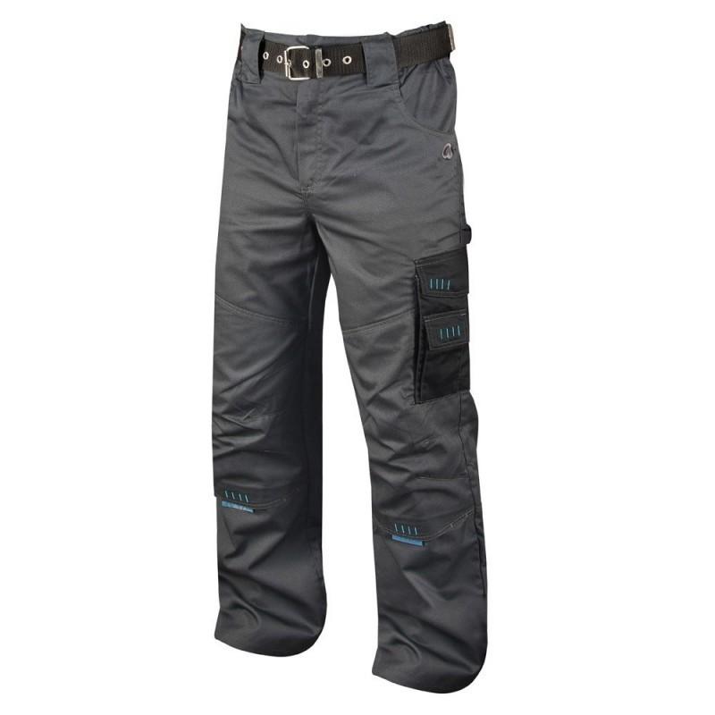 Pantaloni de lucru 4Tech gri/negru H9301 :: 4TECH