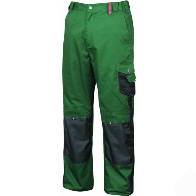 Pantaloni de lucru Pre H9501 Verde :: Nakita