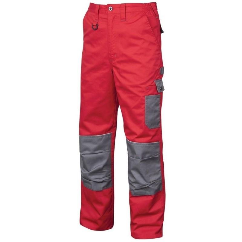 Pantaloni de lucru 2Strong Rosu-Gri :: Nakita