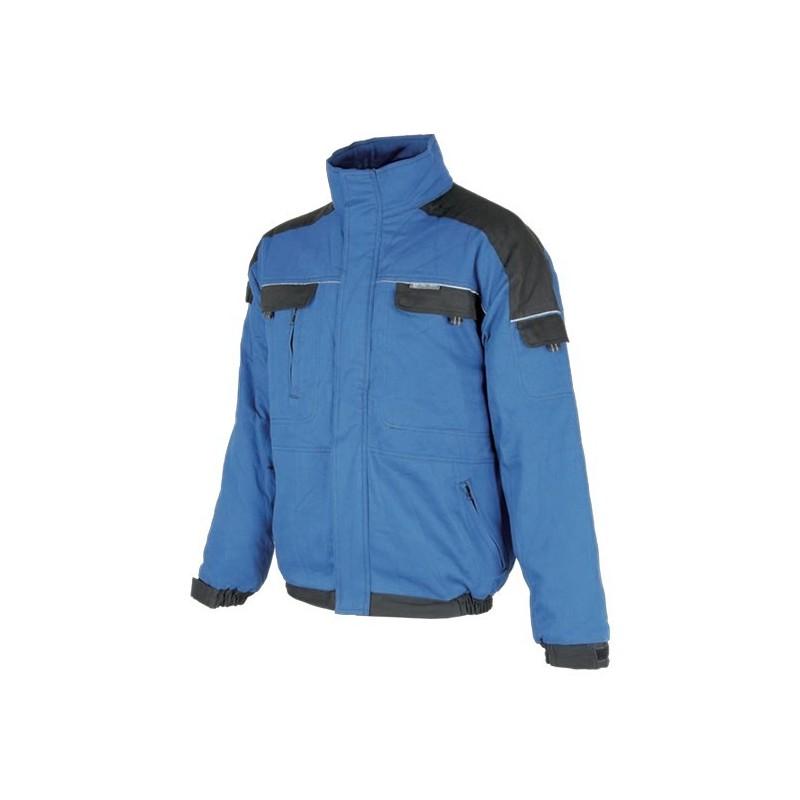 Jacheta de iarna Cool Trend  Albastru-Negru H8133 :: Cool Trend
