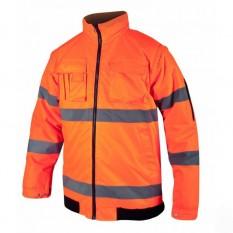 Geaca reflectorizanta Howard Reflex portocaliu H8139 :: Ardon