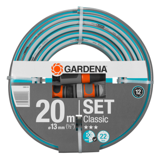 Set furtun Classic 20 m/13 mm cu conectori :: Gardena