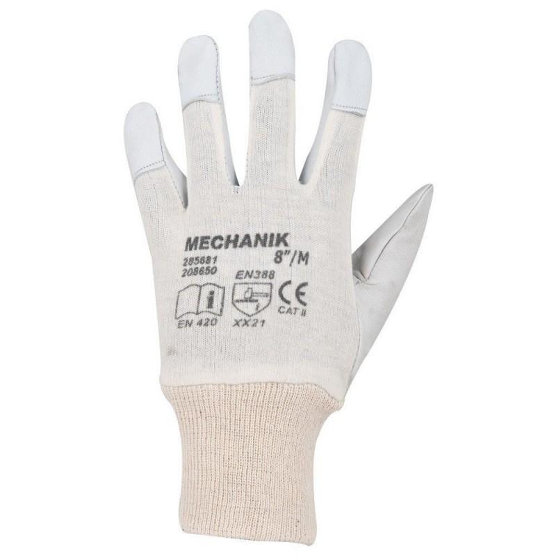 Manusi de protectie din piele Mechanik A1020 :: Ardon