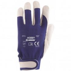 Manusi de protectie din piele de capra Hobby A1073 :: Ardon