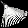 Grebla metalica in forma de evantai Combisystem :: Gardena