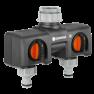 Conector ramificat pentru robinet Gardena :: Gardena