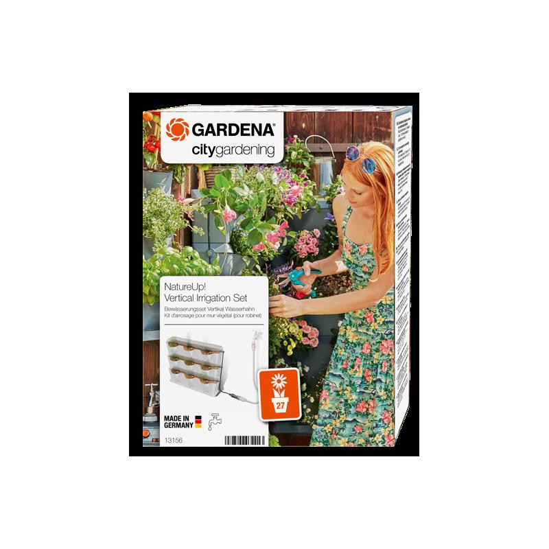Set de irigare ghivece verticale pentru robinet NatureUp :: Gardena