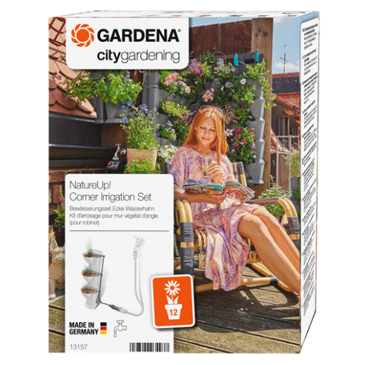 Set de irigare ghivece de colt pentru robinet NatureUp :: Gardena