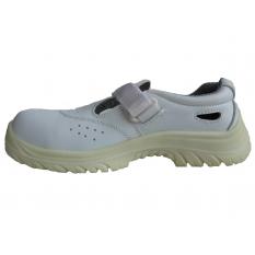 Sandale de protectie cu bombeu compozit Adamant White S1 :: Adamant