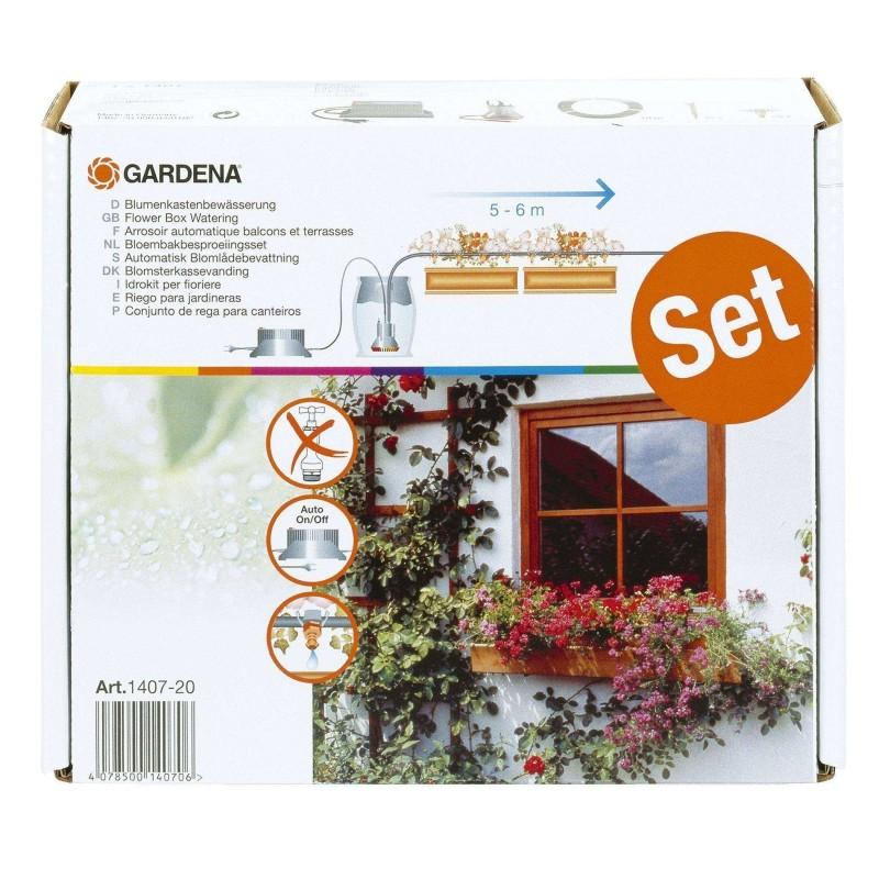 Set automat de micro-irigare pentru jardiniere Gardena :: Gardena