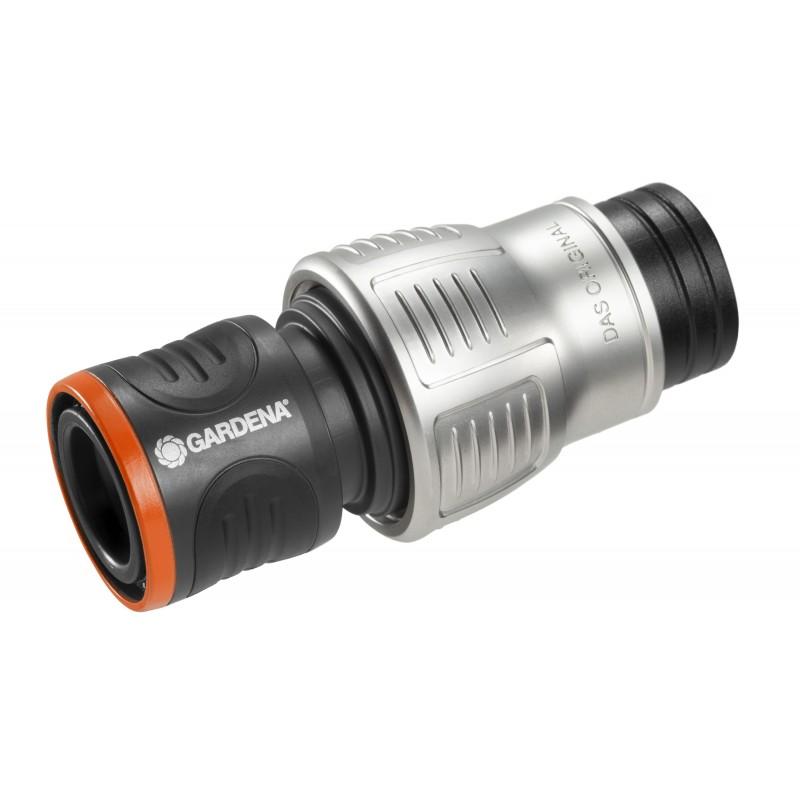 "Conector Premium cu stop pentru furtun 19 mm (3/4"") :: Gardena"