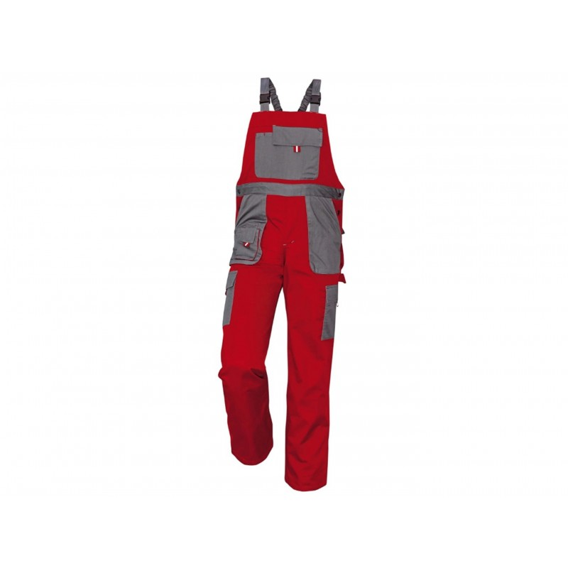 Pantaloni de lucru Max Evo rosu/gri :: CRV