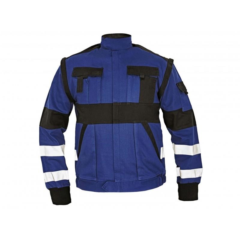 Jacheta Max Reflex albastru/negru :: CRV